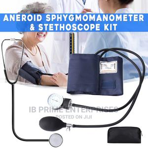 Aneroid Sphygmomanometer Blood Pressure Measure Device Kit   Medical Supplies & Equipment for sale in Lagos State, Lagos Island (Eko)