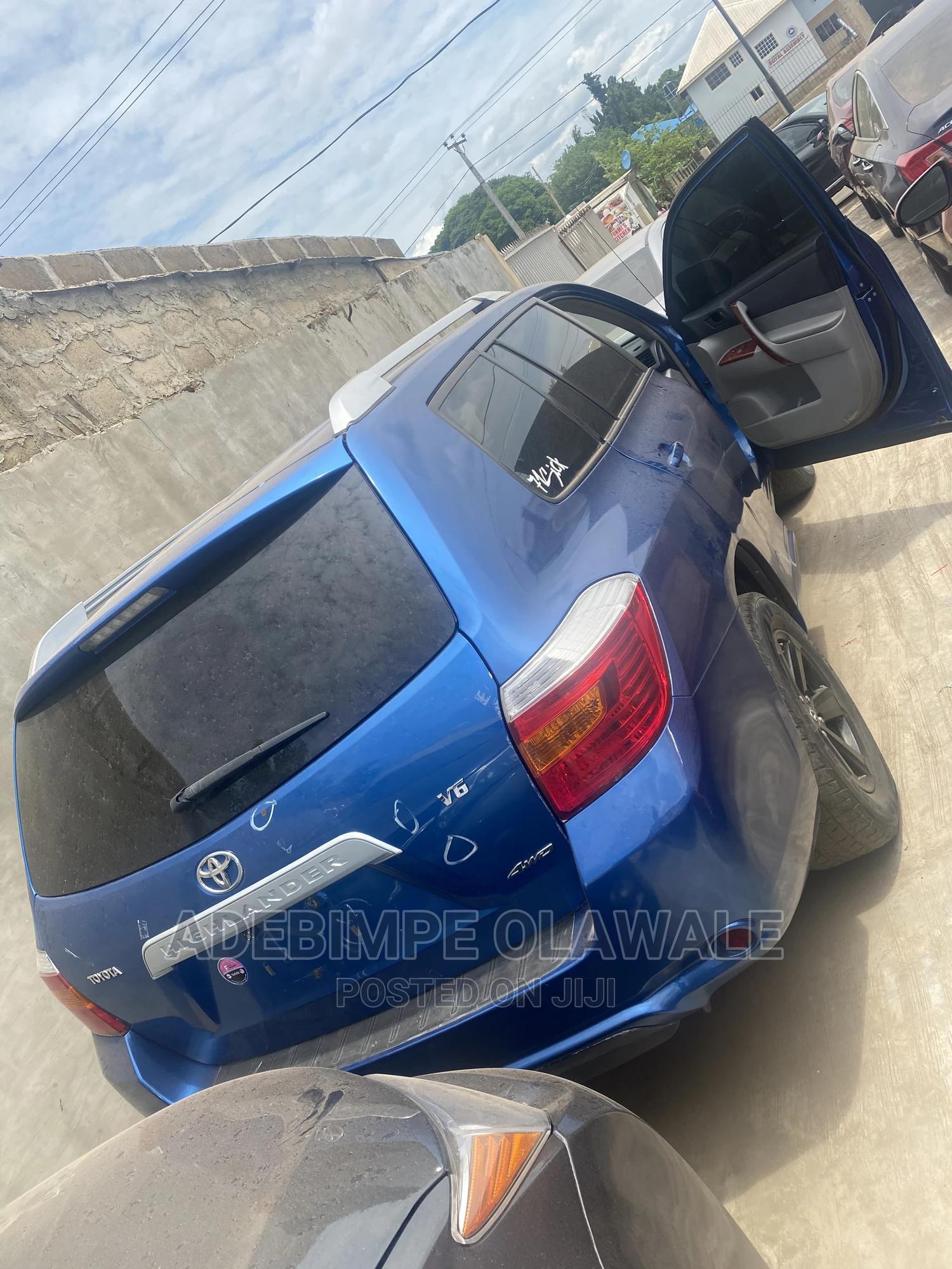 Toyota Highlander 2008 Blue   Cars for sale in Ibadan, Oyo State, Nigeria
