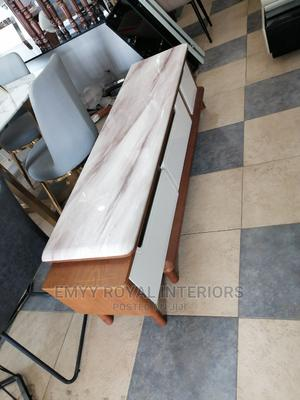 Quality Television Stand With Marble Top   Furniture for sale in Abuja (FCT) State, Central Business District