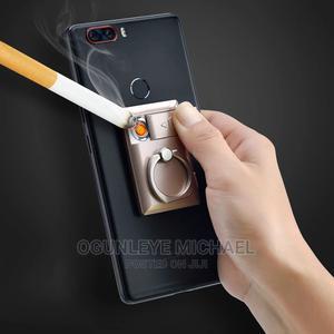 Electric Lighter:USB Cigarettelighter Portable Phone Bracket | Accessories for Mobile Phones & Tablets for sale in Ekiti State, Ado Ekiti