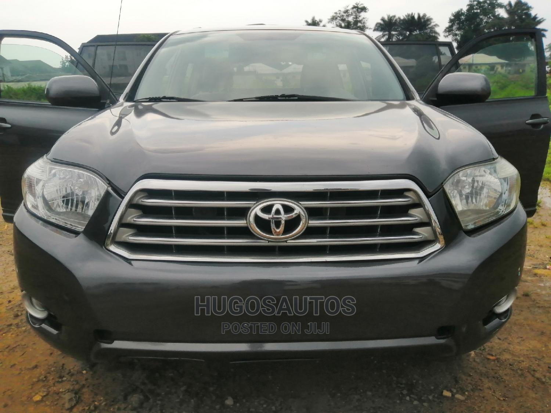 Toyota Highlander 2008 Limited Gray