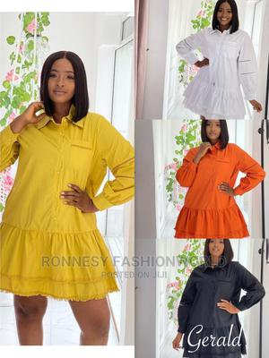 Elegant Classic Trendy Female Quality Short Flare Gown | Clothing for sale in Lagos State, Ikeja