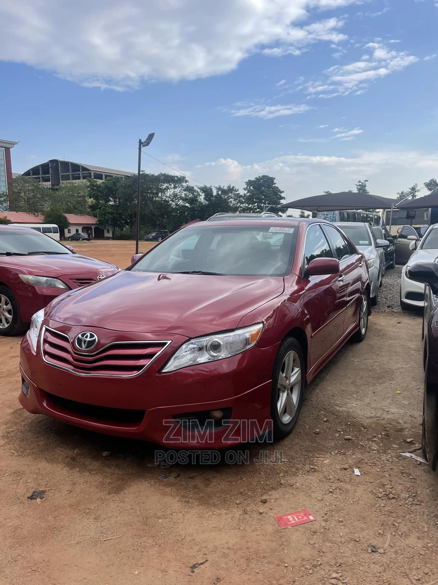 Toyota Camry 2011 Red | Cars for sale in Central Business District, Abuja (FCT) State, Nigeria