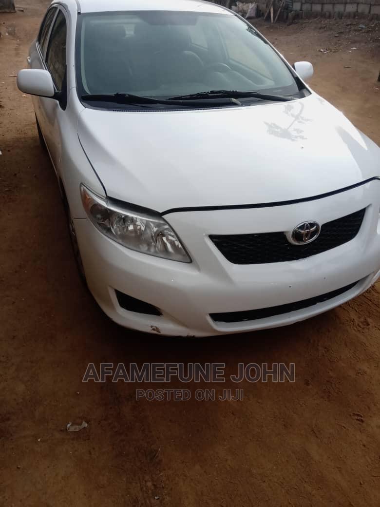 Toyota Corolla 2010 White | Cars for sale in Alimosho, Lagos State, Nigeria