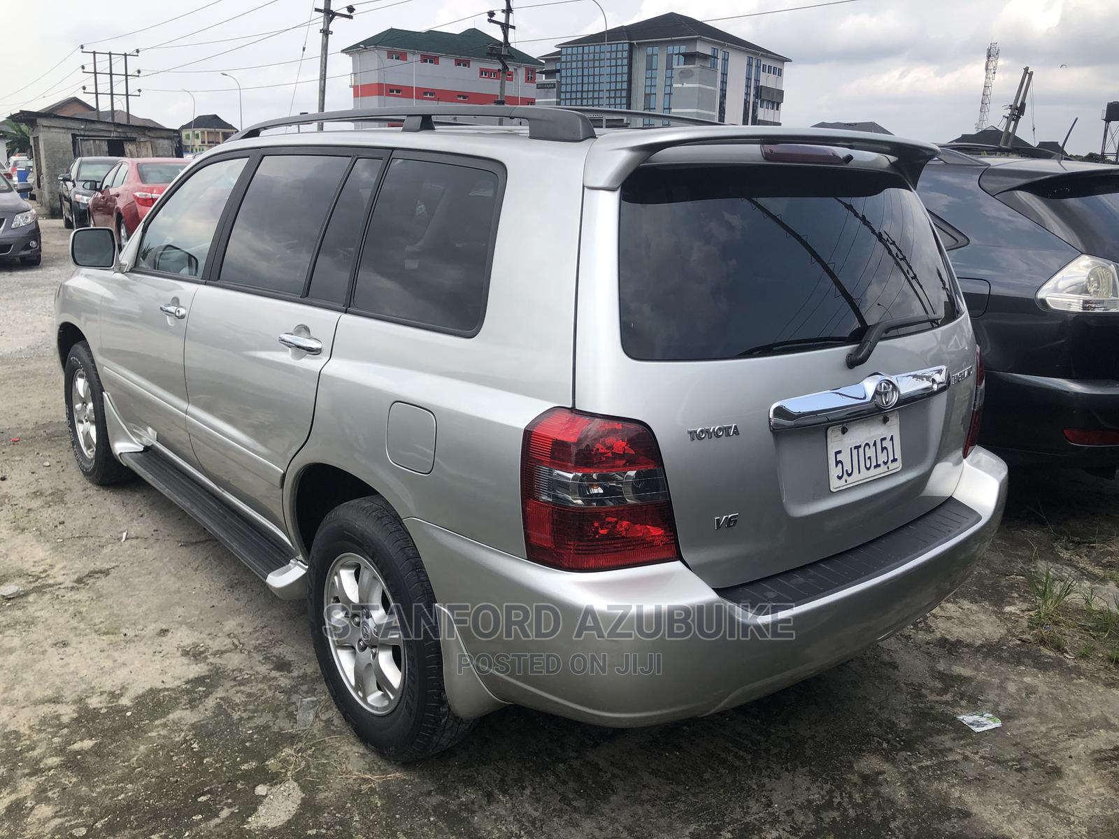 Toyota Highlander 2006 Silver   Cars for sale in Port-Harcourt, Rivers State, Nigeria
