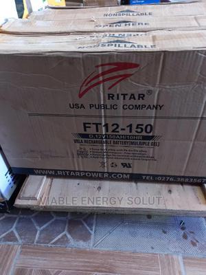 12v 150ah Ritar Vietnam GEL Battery   Solar Energy for sale in Abuja (FCT) State, Kubwa