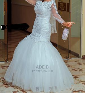 Neatly Used Wedding Gown | Wedding Wear & Accessories for sale in Ekiti State, Ado Ekiti