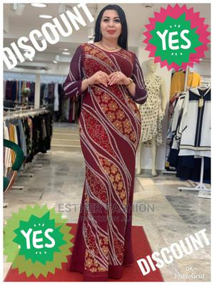 Fashion Ladies Quality Turkey Long Dress   Clothing for sale in Lagos State, Ikeja
