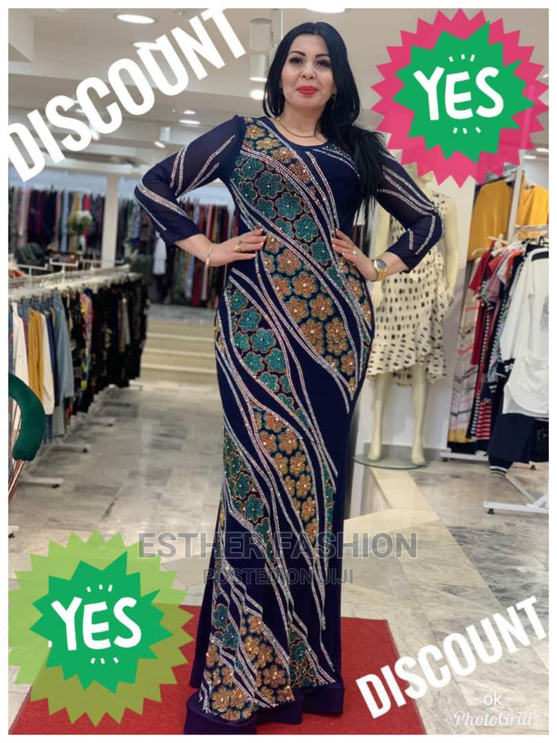 Female Quality Turkey Long Dress   Clothing for sale in Ikeja, Lagos State, Nigeria