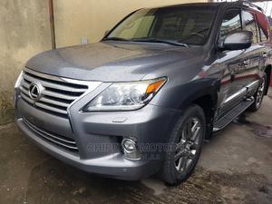 Lexus LX 2014 570 AWD Gray | Cars for sale in Lagos State, Amuwo-Odofin