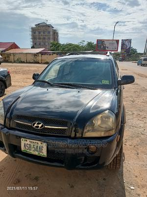 Hyundai Tucson 2005 GLS 4x4 Black   Cars for sale in Delta State, Oshimili South