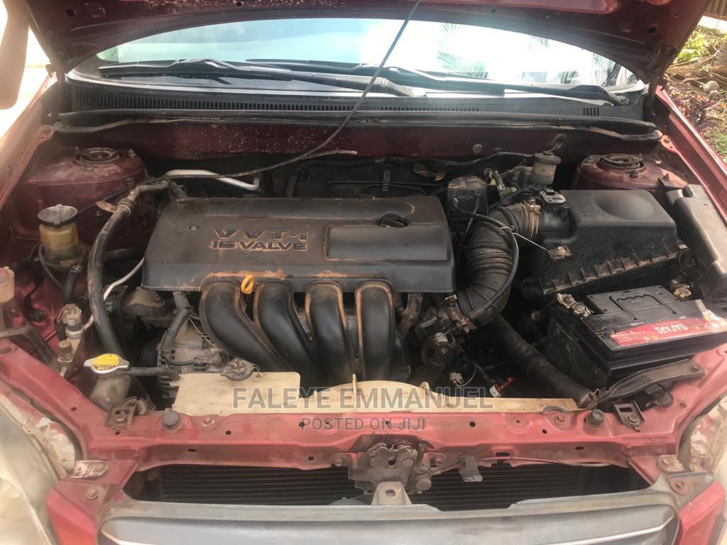 Archive: Toyota Corolla 2003 Liftback Red