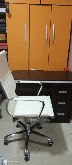 Imported Executive Office Table With Luxury Chair Swivel | Furniture for sale in Lagos State, Magodo