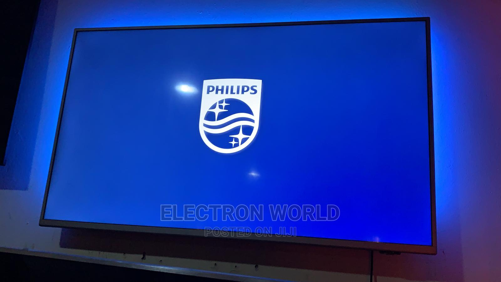 2020 50 Inch Philips 4k UHD ANDROID Tv With Ambient Light