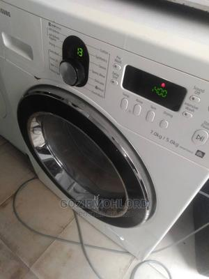 Clean 2IN1 Samsung 7.5kg FRONT LOADER Washing Machine   Home Appliances for sale in Lagos State, Ojo