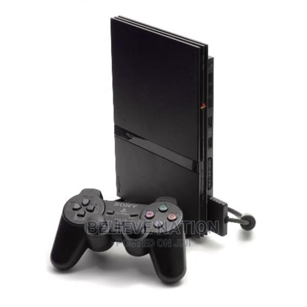 Slim Playstation 2 Game   Video Game Consoles for sale in Benin City, Edo State, Nigeria