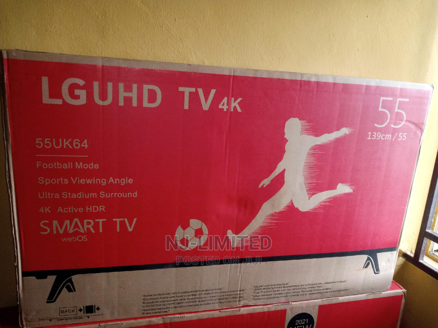 Archive: Promo on Original LG Smart TV 55 Inches With Netflix Etc