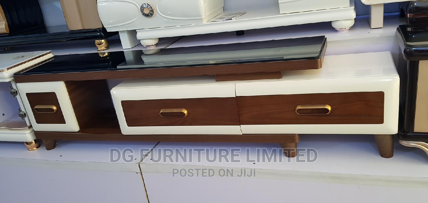Archive: Classic and Elegant Adjustable Glass Tv Stand