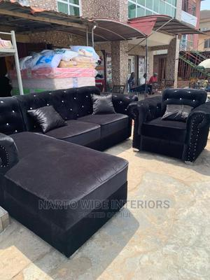 L Shaped Sofa, 6 Seaters | Furniture for sale in Lagos State, Ojo