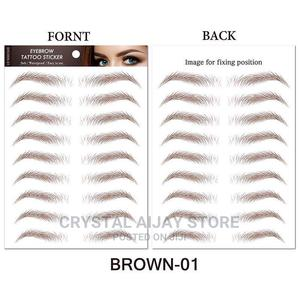 10 in 1 Eyebrow Tattoo/Easy to Wear and Last Long | Makeup for sale in Lagos State, Abule Egba