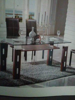 Glass Dining Table and Chair | Furniture for sale in Lagos State, Surulere