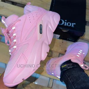 *B22 Dior Sneakers Pink Pink * | Shoes for sale in Lagos State, Lagos Island (Eko)