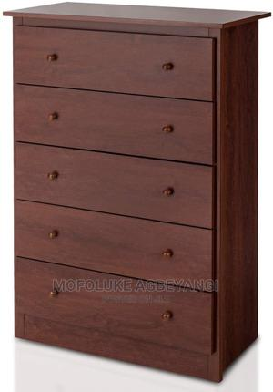 5 Drawer Chest, Storage Dresser, Wooden Clothes Organisers | Children's Furniture for sale in Lagos State, Ajah