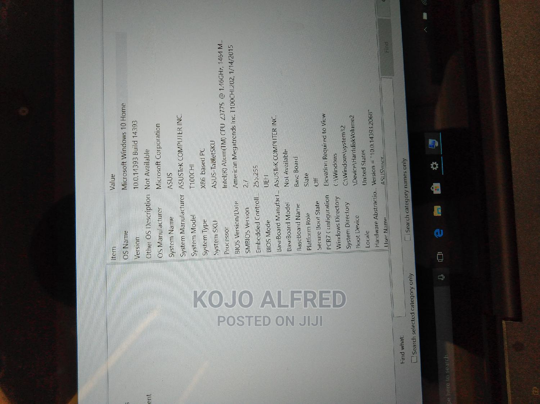 Laptop Asus Transformer Book T100 Chi 2GB Intel Core 2 Quad SSD 32GB | Laptops & Computers for sale in Ado-Odo/Ota, Ogun State, Nigeria