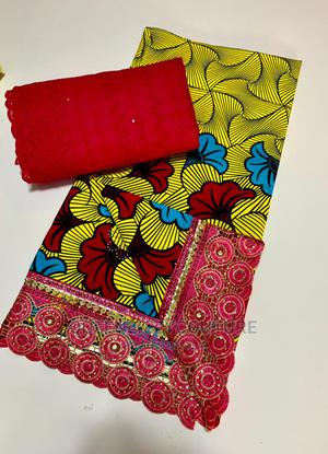 Lace and Ankara Combo   Clothing for sale in Kwara State, Ilorin South