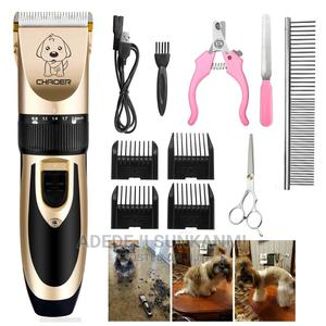 Dog Hair Trimmer Professional Hair Clippers   Pet's Accessories for sale in Lagos State, Ifako-Ijaiye