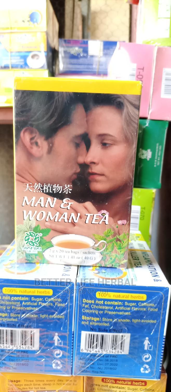 Man Woman Tea.
