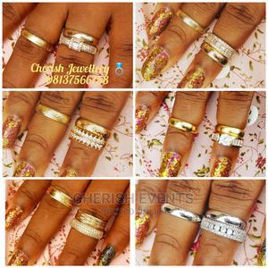 Quality Italian Gold Wedding Ring Set. | Wedding Wear & Accessories for sale in Ogun State, Sagamu