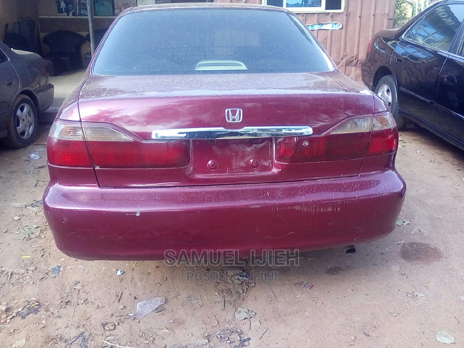 Honda Accord 2002 LX Automatic Red   Cars for sale in Suleja, Niger State, Nigeria