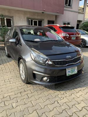 Kia Rio 2018 EX Sedan Gray   Cars for sale in Lagos State, Ikoyi
