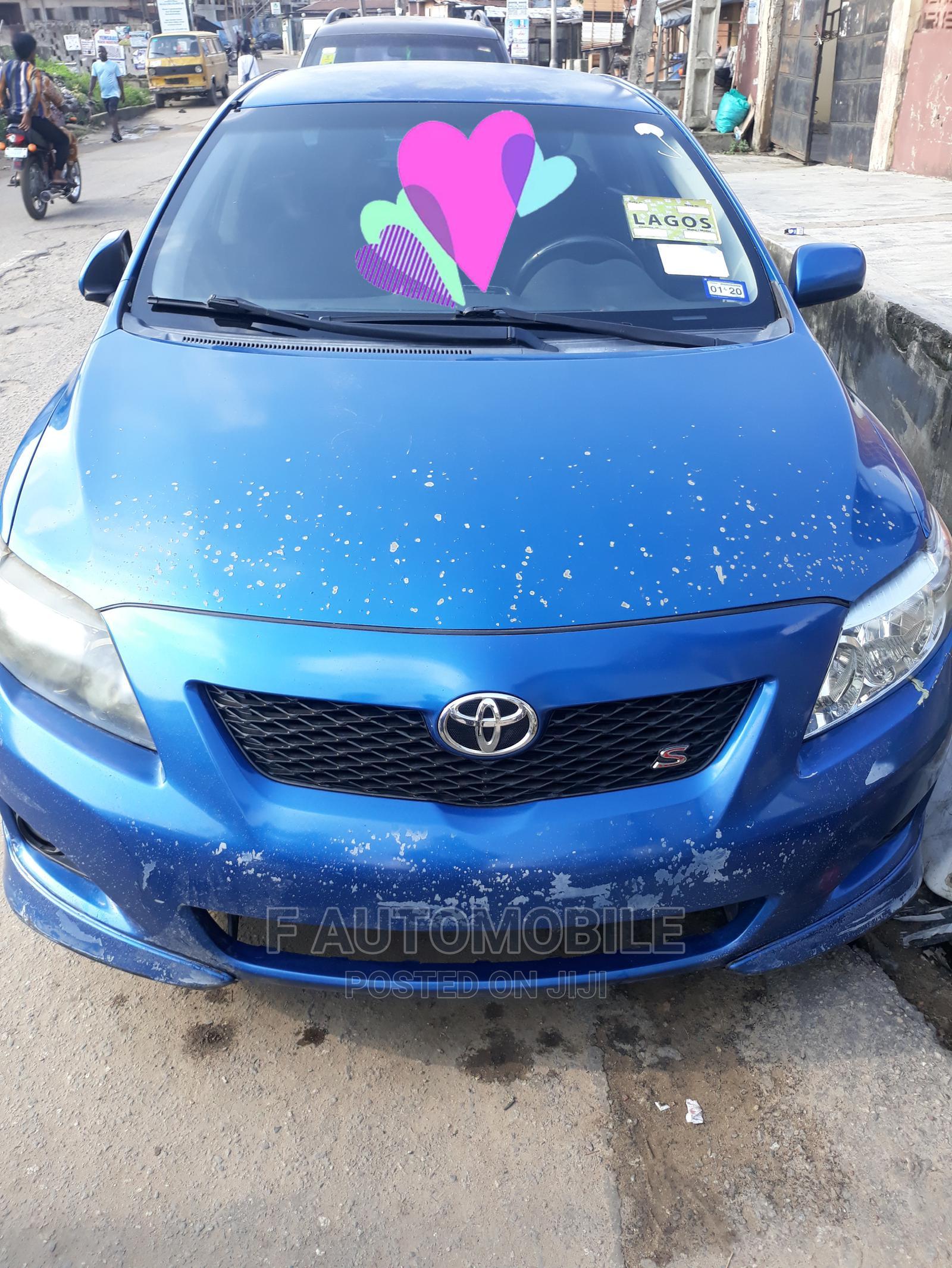 Archive: Toyota Corolla 2010 Blue