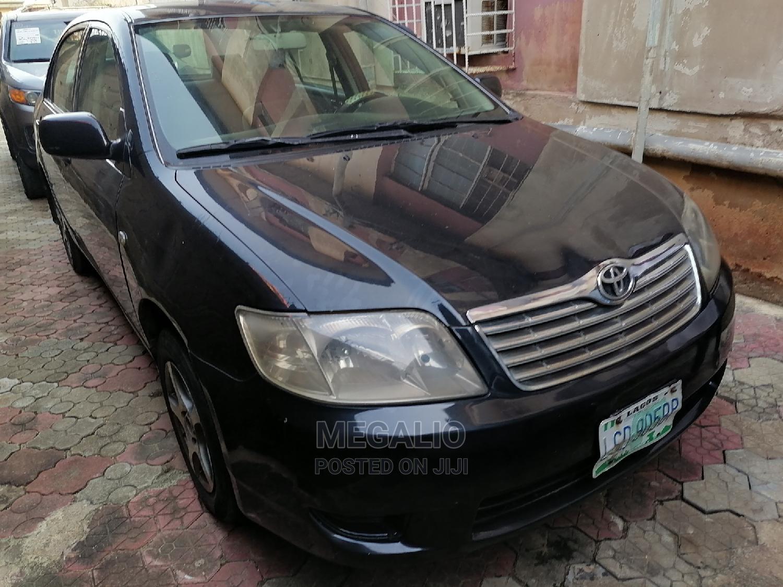 Archive: Toyota Corolla 2007 Black