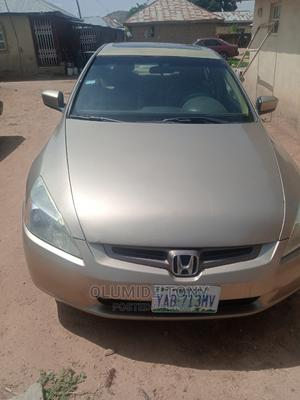 Honda Accord 2004 2.4 Type S Automatic Gold   Cars for sale in Abuja (FCT) State, Gwagwalada