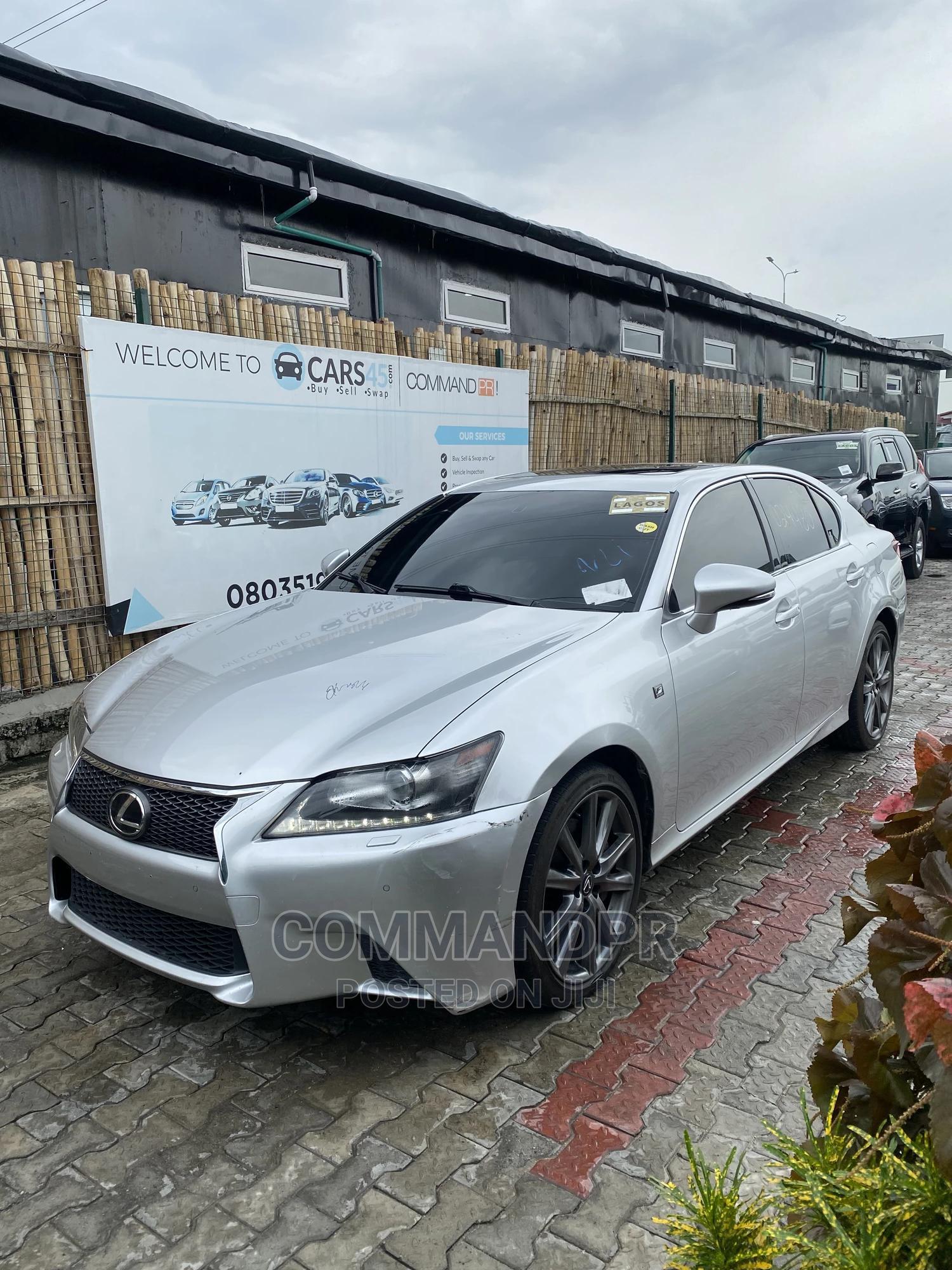 Lexus GS 2014 350 4WD Silver