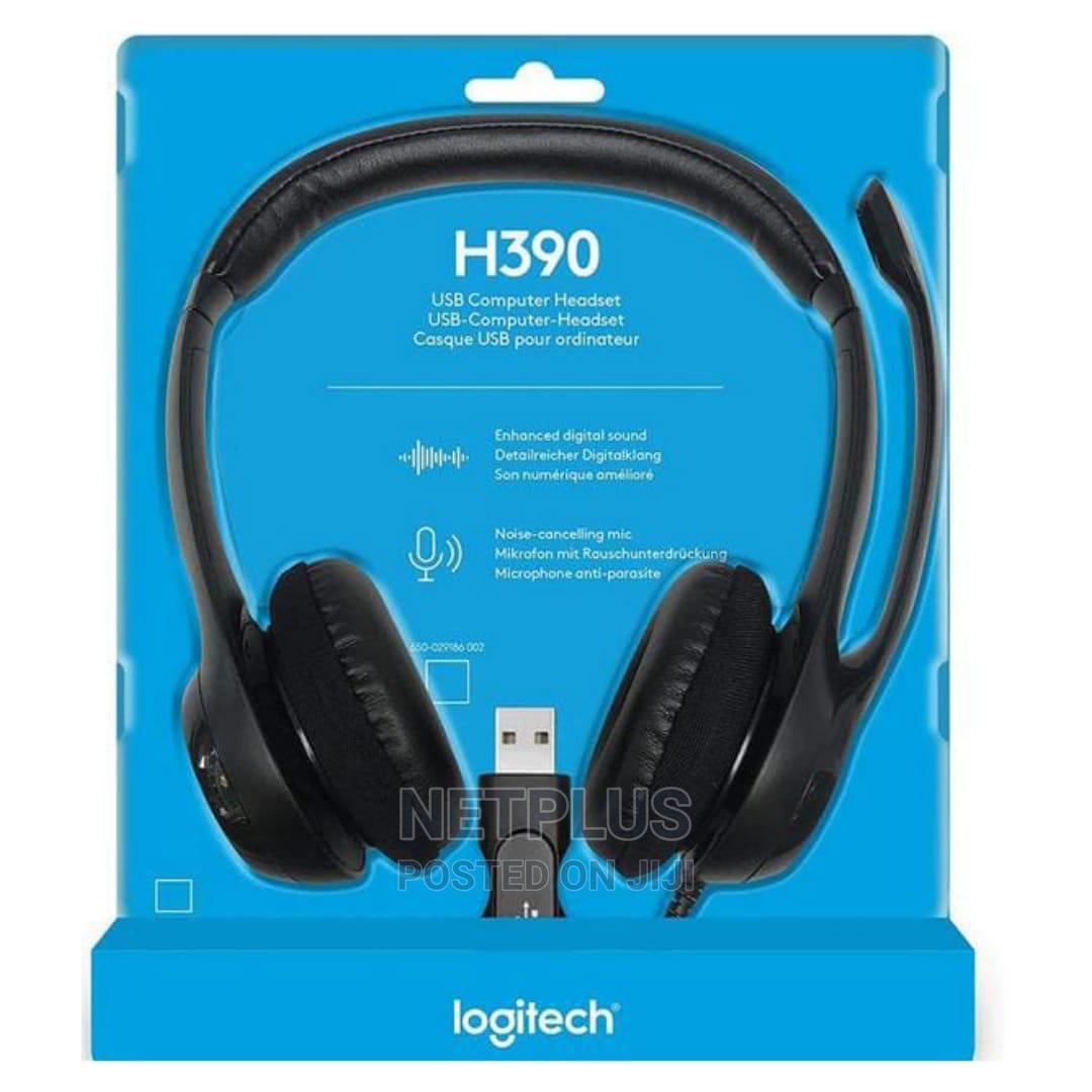 Archive: Logitec Headset H390