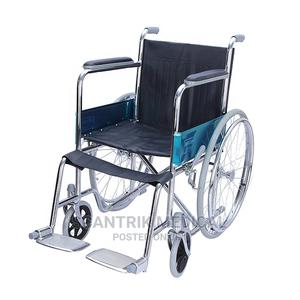 Manual Foldable Wheelchair | Medical Supplies & Equipment for sale in Abuja (FCT) State, Wuse