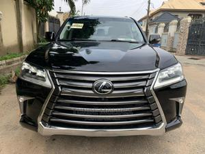 Lexus LX 2017 570 AWD Black | Cars for sale in Lagos State, Agege