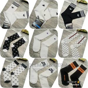 Thick Fabric High Quality Designer Socks | Clothing for sale in Lagos State, Apapa