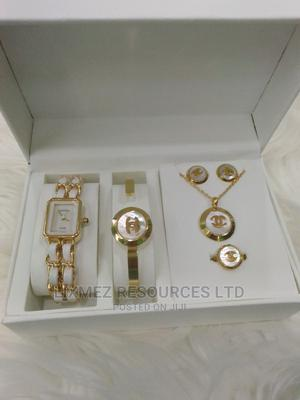 Channel Set With Wrist Watch | Watches for sale in Lagos State, Surulere
