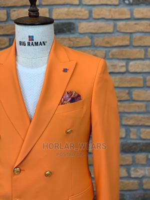 Wine Double Breasted Suit for Men | Clothing for sale in Lagos State, Lagos Island (Eko)