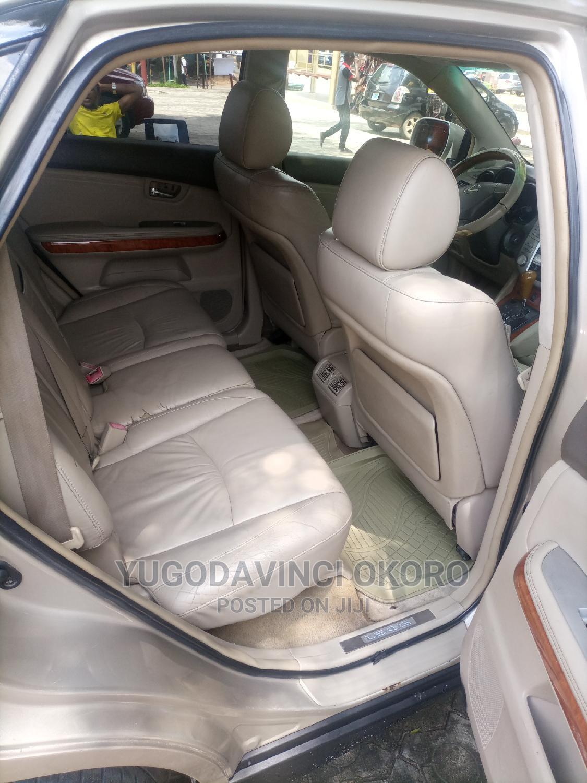 Archive: Lexus RX 2005 Gold