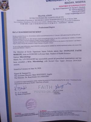 Travel Tourism CV   Travel & Tourism CVs for sale in Lagos State, Ikorodu