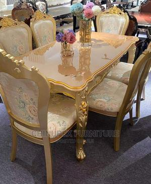 High Quality Exotic Gold Dinning Table | Furniture for sale in Lagos State, Ojo