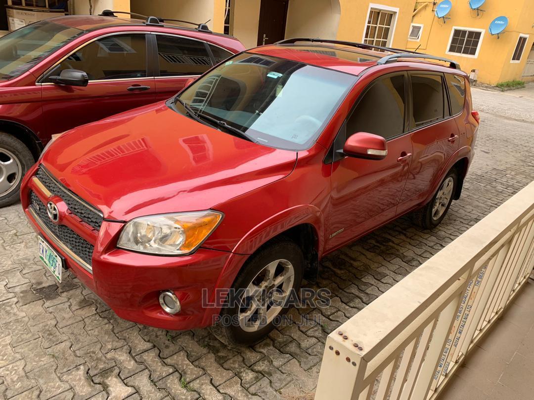 Toyota RAV4 2010 2.5 Limited Red