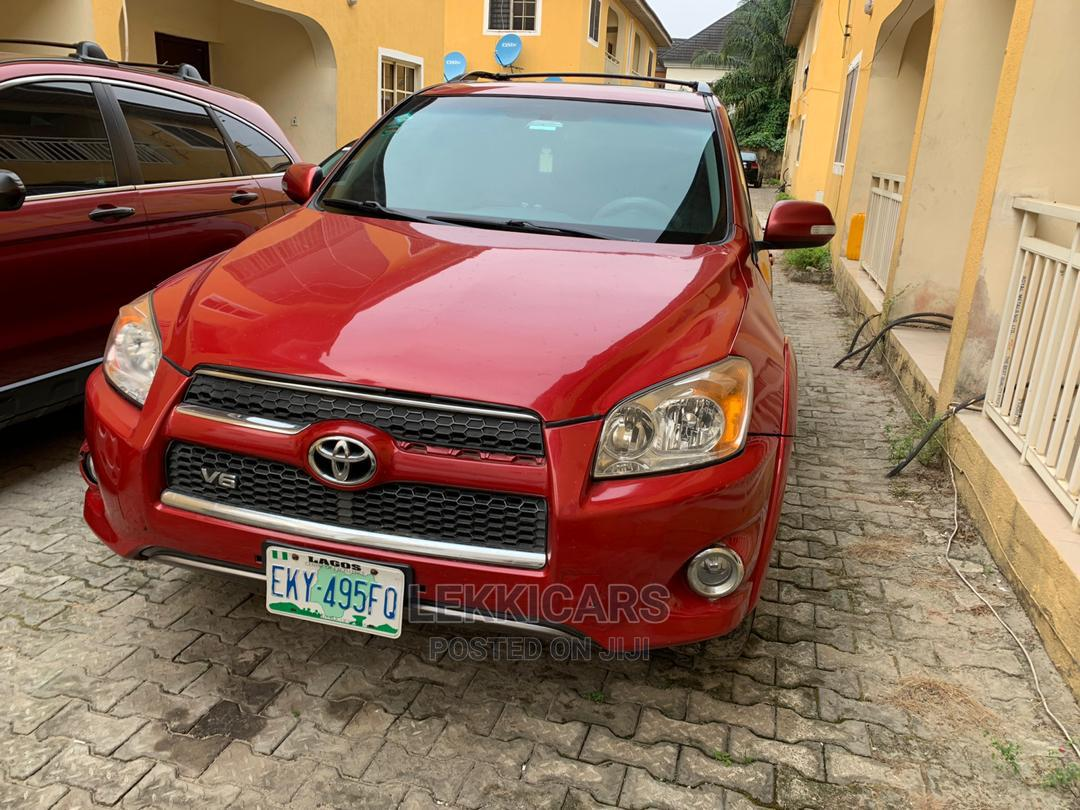 Toyota RAV4 2010 2.5 Limited Red   Cars for sale in Lekki, Lagos State, Nigeria