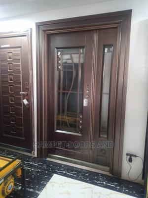 4ft German Copper Door With Glass | Doors for sale in Lagos State, Surulere